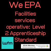 WE are the only EPAO who EPA: Facilities services operative Level 2