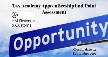Tax Academy Apprenticeship End-Point AssessmentHM Revenue and Customs