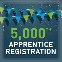 This week the 5,000th Apprentice was registered with IMI as the End Point Assessment Organisation.
