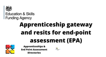 Apprenticeship gateway and resits for en...