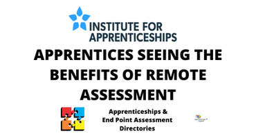 APPRENTICES SEEING THE BENEFITS OF REMOTE ASSESSMENT