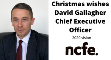 Christmas wishes from David Gallagher