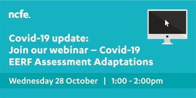 Join our webinar which will give more detail on our approach to qualification and assessment adaptations under the EERF, as well as answer your questions regarding the year ahead