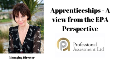 Apprenticeships - A view from the EPA Perspective