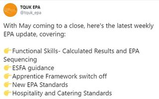 With May coming to a close, here's the latest weekly EPA update, covering:
