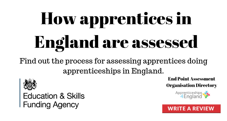 How apprentices in England are assessed