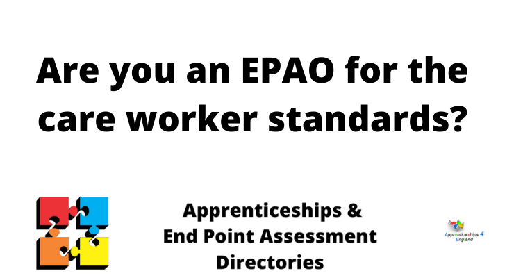 Are you an EPAO for the care worker standards?