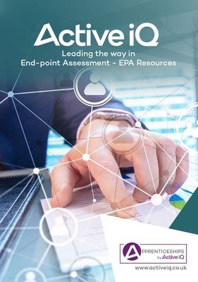 End-point Assessment Resources Brochure