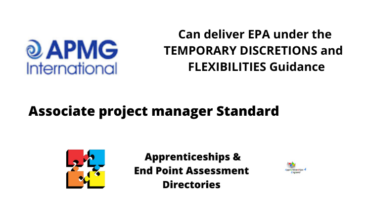 APMG can EPA Associate Project Manager