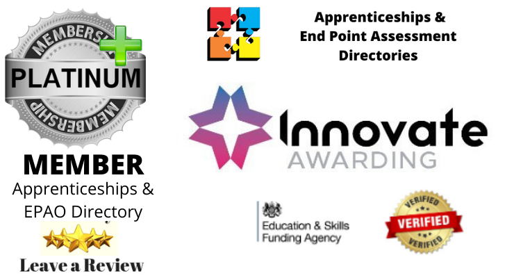 Innovate Awarding: Latest Platinum Plus Member EPAO & Apprenticeships Directory